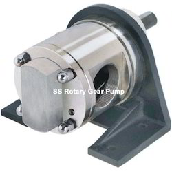 Stainless Steel Rotary Gear Pump, Max Flow Rate: 300 LPM