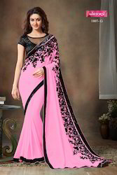 Embroidered Designer Saree