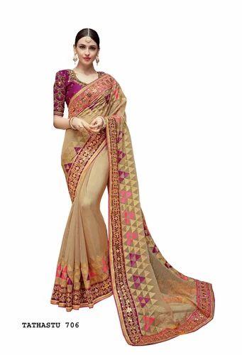 800a166183 Designer Indian Saree at Rs 6088 /piece | Party Wear Saree - Surya ...