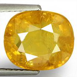 5 Carats Yellow Sapphire