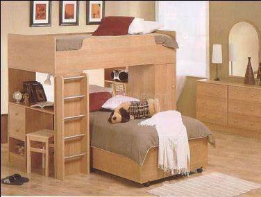 Bunk Beds With Study Table