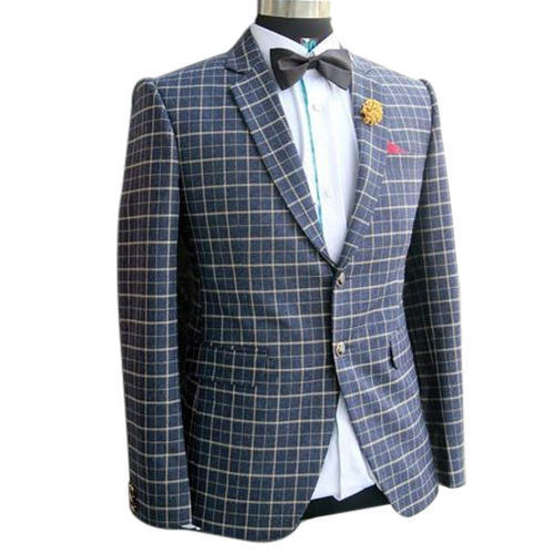 3821072b3 Mens Party Wear Check Blazer