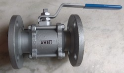 3 Piece Design Ball Valves Flange End