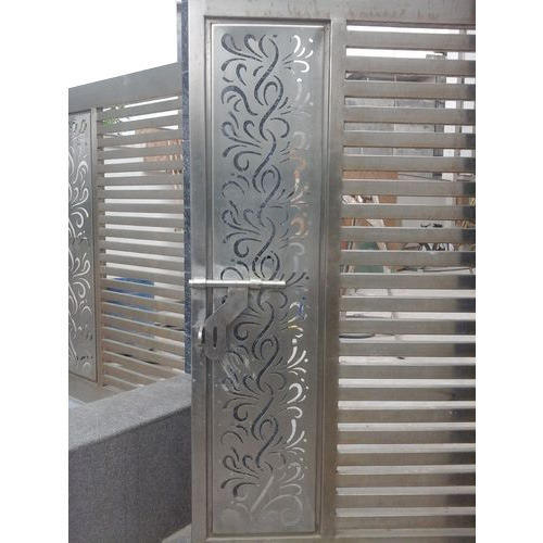 Laser Cutting Stainless Steel Gates At Rs 1675 Square