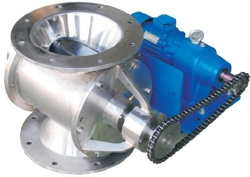 Rotary Air Valve : Rotary valve air lock at rs unit