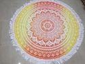 Bohimean Mandala Beach Roundie Tapestry