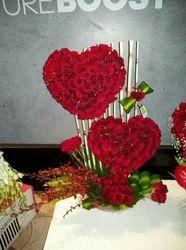 All Colour Real Flowers Arrangements