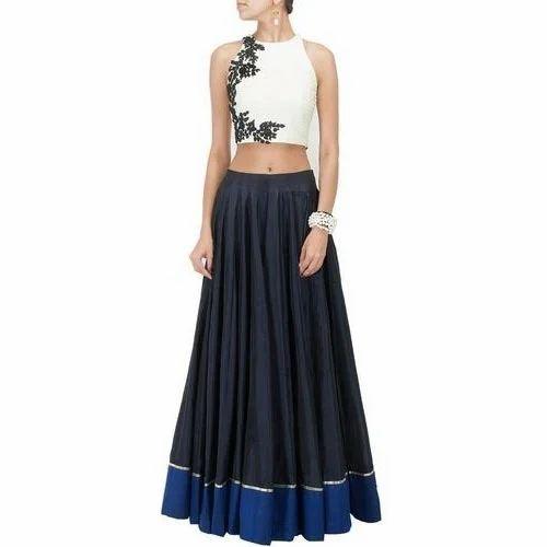 Party Wear Long Skirt Top