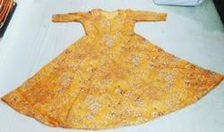 Muslin printed cotton designer kurtis