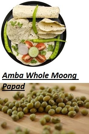 Whole Moong Papad At Rs 50 Packet Mung Papad मग पपड