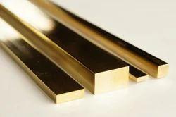 Golden Nordic Brass Flat Bars, For Construction