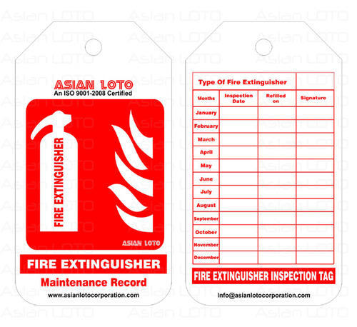Lockout fire extinguisher tag view specifications details of lockout fire extinguisher tag altavistaventures Image collections