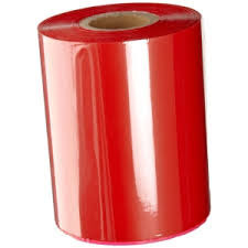 Wax Resin Thermal Transfer Ribbon Red