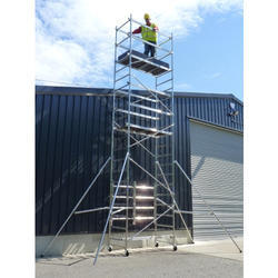 Double Width Tower Scaffold Without Stairway for Rental