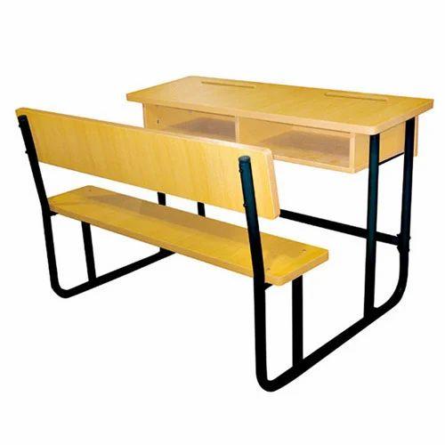 Fiber School Desk Bench Nursery School Bench