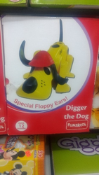 Digger The Dog Baby Toy