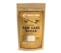 Indian GREENINDIA Raw Sugar, No Preservatives