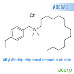 Alkyl Dimethyl Ethylbenzyl Ammonium Chloride (ADEBAC)