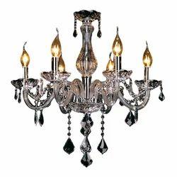 Crystal LED Candle Hanging Chandelier