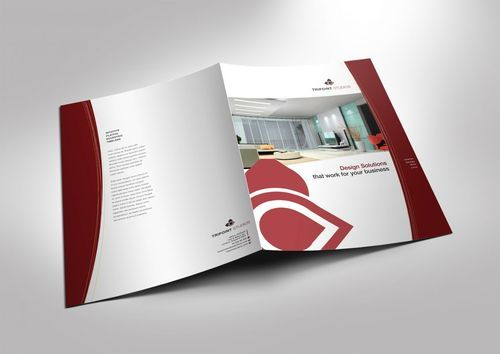 two fold brochure printing services in rohini sector 2 new delhi