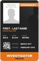 Id Card Designing White Employee ID CARDS PRINTING SERVICES