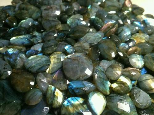 Labradorite Breylite Faceted
