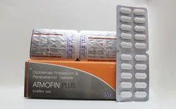 Allopathic Atmofin Plus Tablet, Grade Standard: Medicine Grade, Packaging Type: Box
