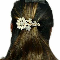 Stone Studded Hair Clips