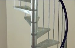 Stainless Steel Spiral Stairs