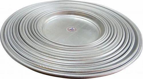 Aluminum Muslim Thali Dinner Lunch Plates Musalmani Thals  sc 1 st  IndiaMART & Aluminum Muslim Thali Dinner Lunch Plates Musalmani Thals - Gopala ...