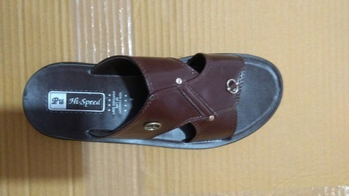 584efbc1a Men Slipper - Gents PU Brown Slippers Wholesale Trader from Delhi