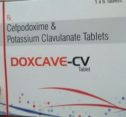 Cefpodoxime And Pottasium Clavulante Tablates