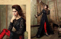 d05d030c86 Black Designer Ladies Suits at Rs 3120 /piece(s)   Chandni Chowk ...