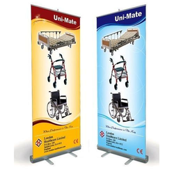 Optional Roll Up Standee, Size: 80*200cm, For Advertising