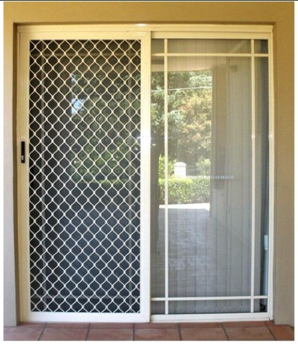 Aluminium Doors Aluminium Mesh Door Manufacturer From Noida
