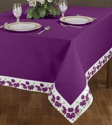Plain With Border Tablecloth