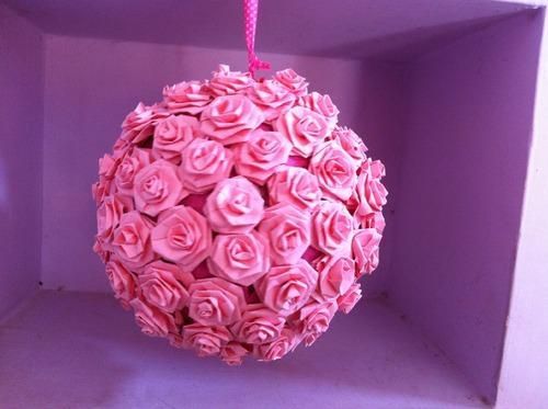 Rose paper flowers pomander at rs 300 piece boduppal hyderabad rose paper flowers pomander mightylinksfo