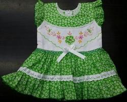 Fancy Cotton Baby Frock