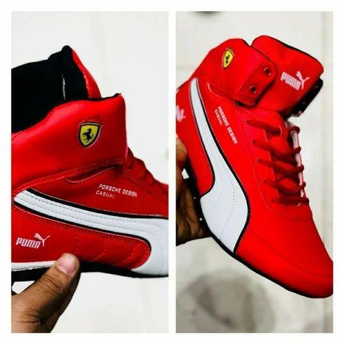 92c4f37028f ... best red men puma ferrari shoes size 7 10 b5280 005b2
