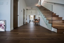 Teak Wood Wooden Flooring, For Outdoor, Finish Type: Glossy