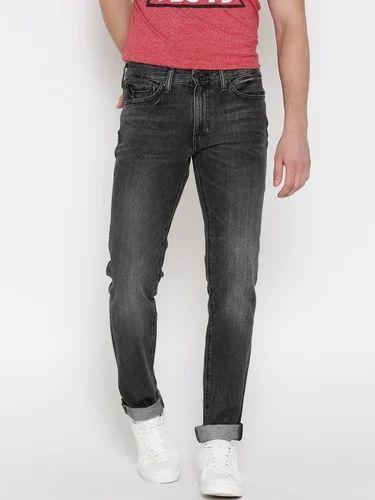 Mens Carbon Black Jeans
