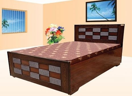 Double bed sunmica designs for Bed design images