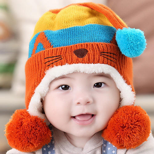Woolen Baby Cap at Rs 250  piece  4eb6408e6