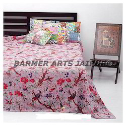 Kantha Bed Cover hand made