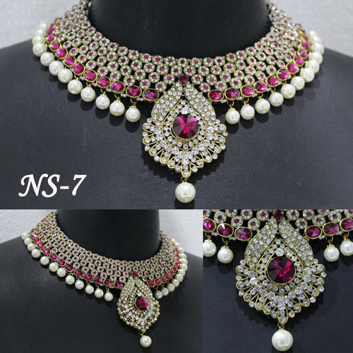 Artificial Jewellery Sets For Wedding: Bridal Set Wholesaler From Ahmedabad