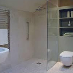 Bathroom Partition Glass Model toilet partition - glass shower partition manufacturer from chennai