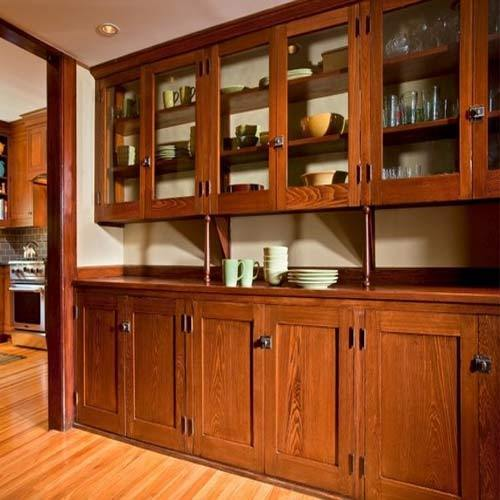 Dk Teak Wood Kitchen