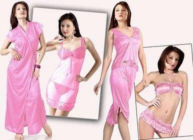 ab3db468b9 Six Piece Nighty Gown