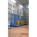 Goods Lift with Handrail