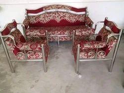 Stainless Steel Designer Sofa Set